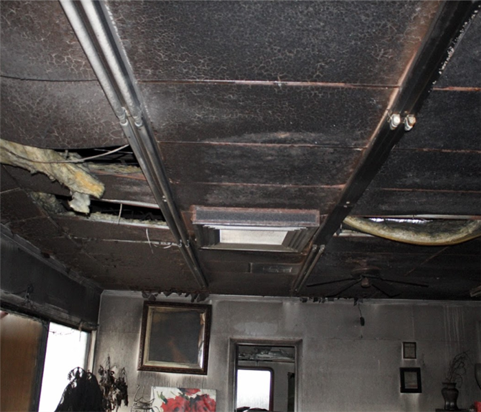 Why SERVPRO The Connection Between Water Damage And Commercial Fire Loss Mitigation