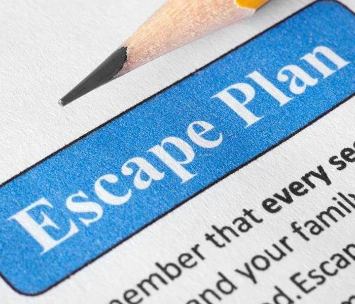 a graphic that says escape plan